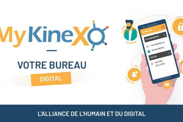 MyKineXo, votre bureau digital